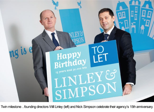 LINLEY & SIMPSON MARKS ANNIVERSARY WITH DOUBLE MILESTONE