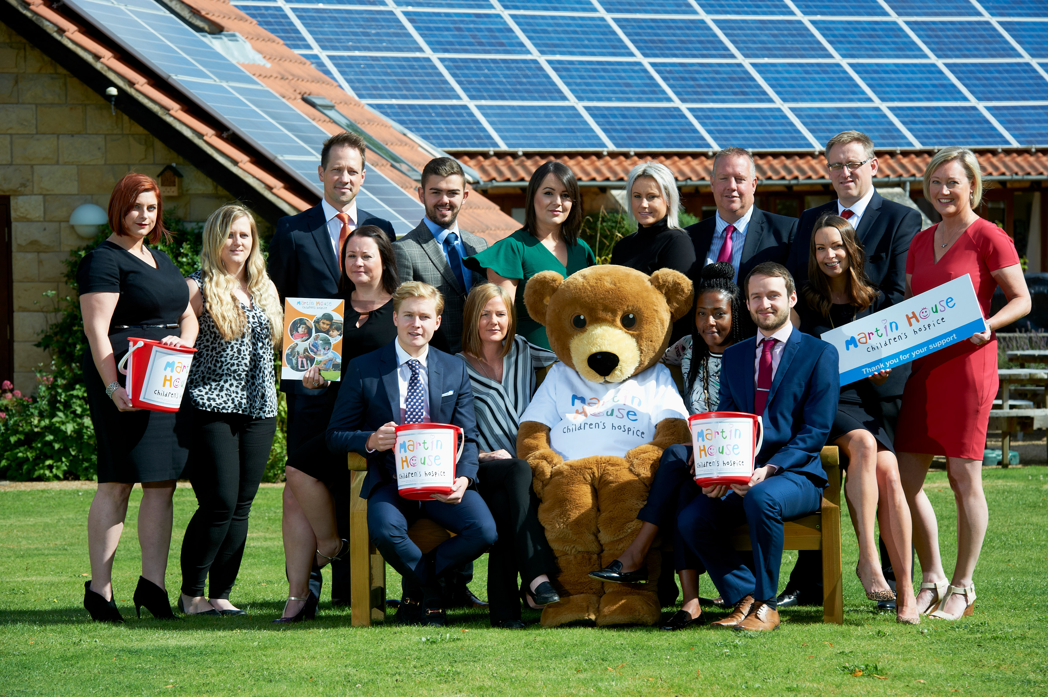 Linley & Simpson launches year of support for Martin House