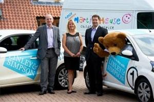 Rental specialists aim to see fund raising go through the roof as Martin House unveiled as its charity of the year