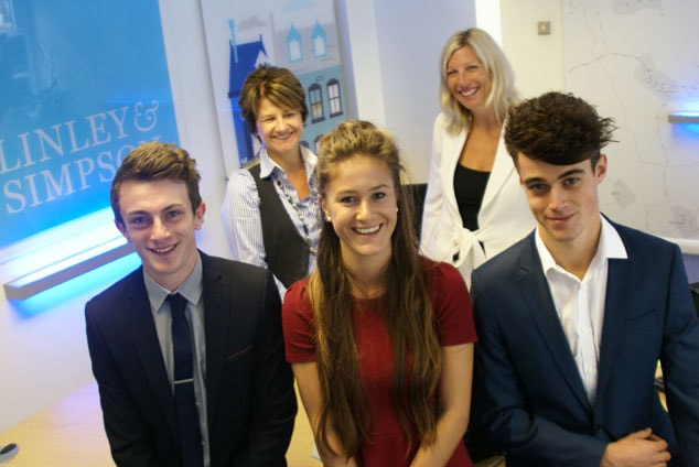 YOU'RE HIRED! - FIRST APPRENTICES JOIN LINLEY & SIMPSON