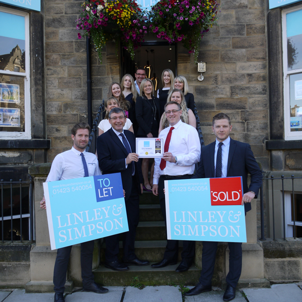 Linley & Simpson goes forward to represent Harrogate in National Estate Agent Awards after being crowned town's best