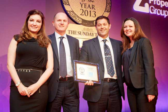 Linley & Simpson picks up award for the third consecutive year