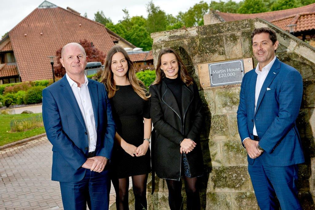 Linley and Simpson celebrates Children's Hospice Week with landmark £20k gift to Martin House