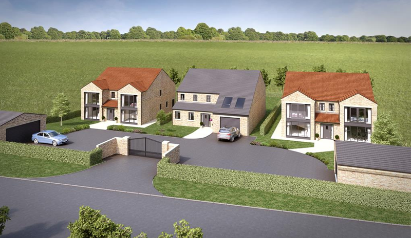 Yorkshire developers tee off new homes project for sale through Linley & Simpson's Ripon office