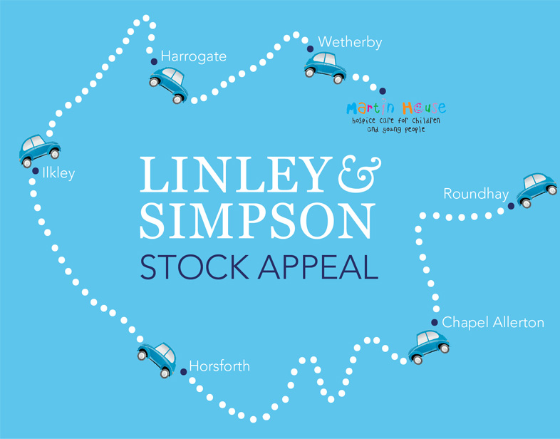 "Linley & Simpson launches ""cash for clutter"" initiative to bring Christmas cheer to children at Martin House hospice"
