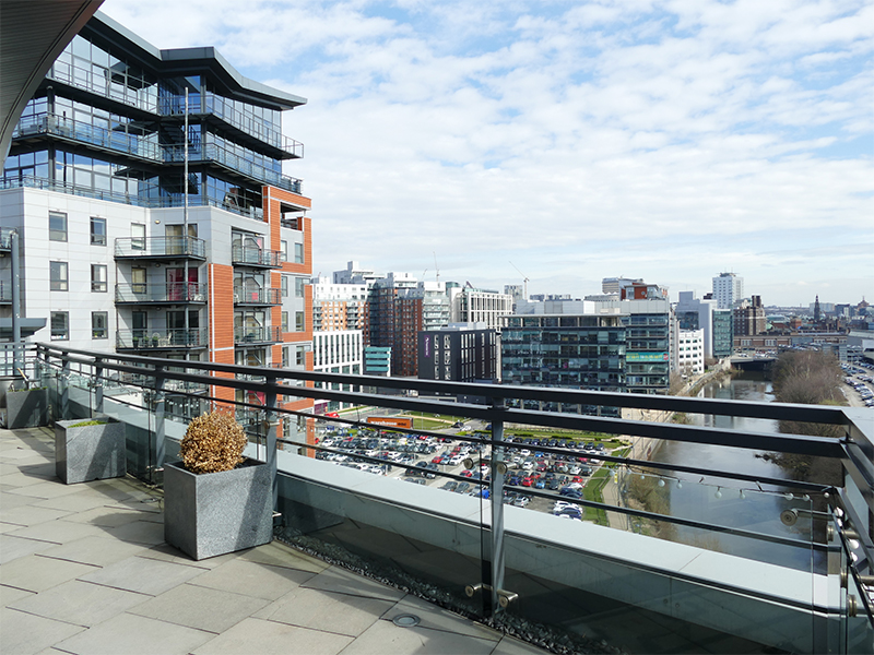 Landmark listing of city centre penthouse takes Leeds estate agency to new heights