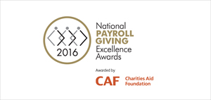 National Payroll Giving Excellence Awards logo
