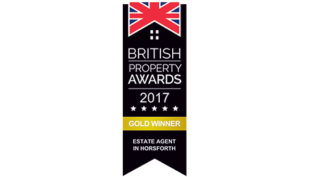 British Property Awards 2017 Gold Winner Logo