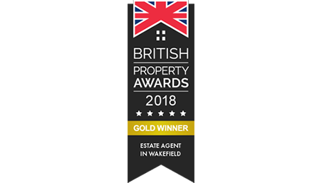 British Property Awards 2018 Gold Winner Logo