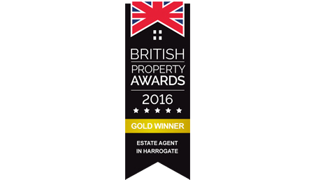 British Property Awards 2016 Gold Winner Logo