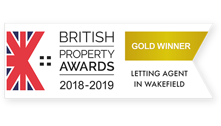 British Property Awards 2018-2019 Gold Winner Logo