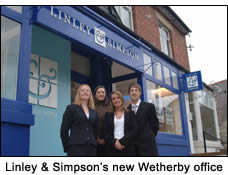Linley & Simpson new office.