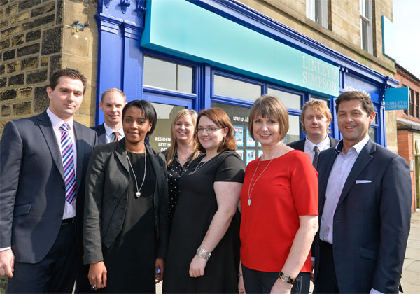 Chapel Allerton Team outside of the office