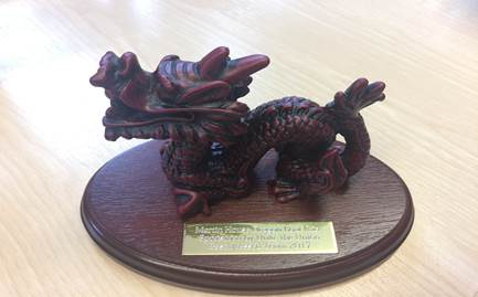 dragon boat trophy
